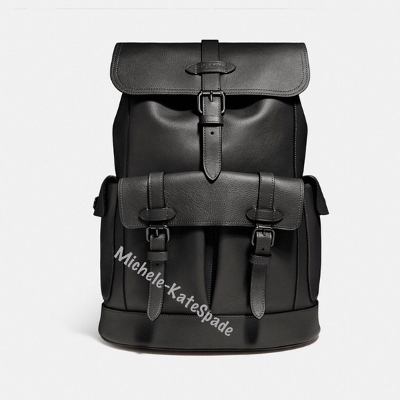 NWT Coach  Hudson   men Backpack F23202 9f2da43b66080